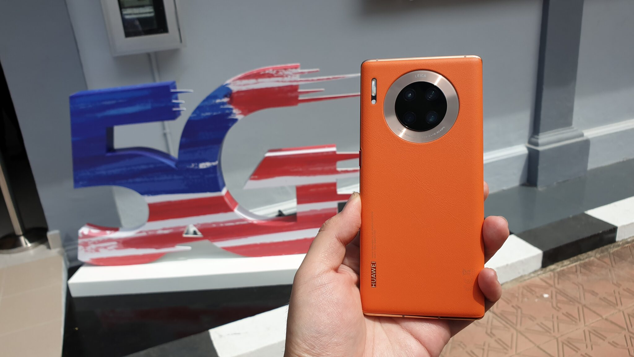Huawei Mate30 Pro 5G rear camera