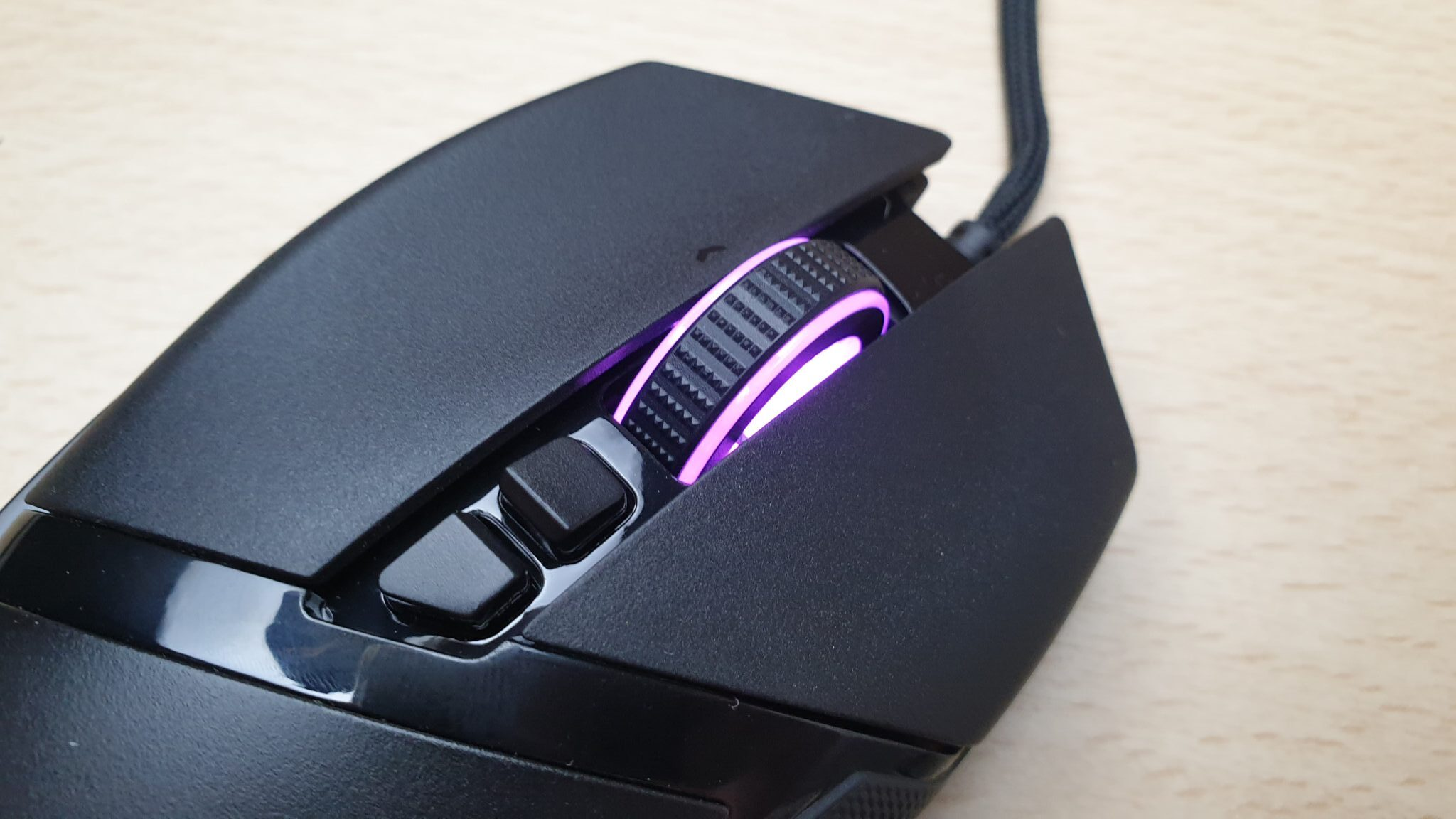 Razer Basilisk V2 top view