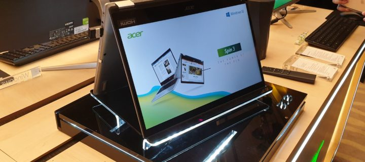 Time to take the Acer Spin 3 for a spin with RM1,000 in free gifts