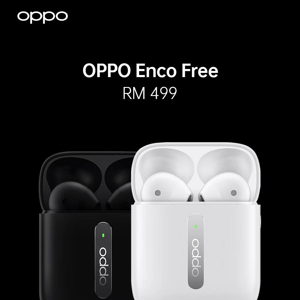 oppo enco free true wireless