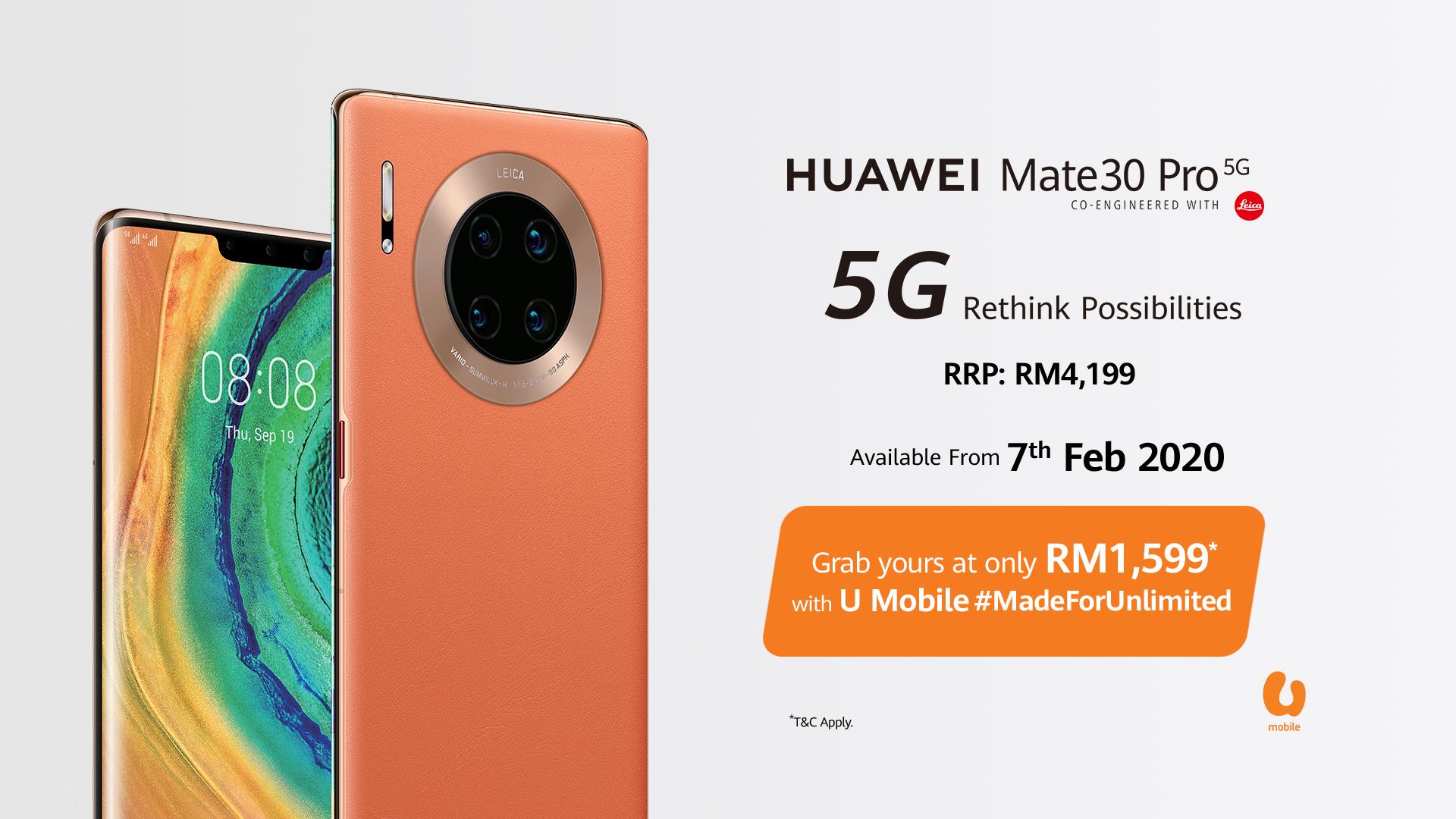 Mate30 Pro 5G UMobile