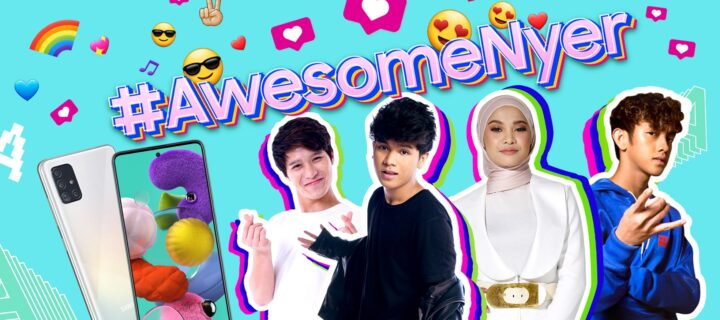 Win a Samsung Galaxy A51 and a trip to Korea in the #AwesomeNyer dance challenge!