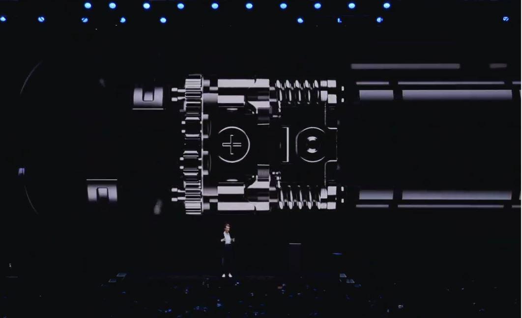 Samsung Galaxy Z Flip hinge