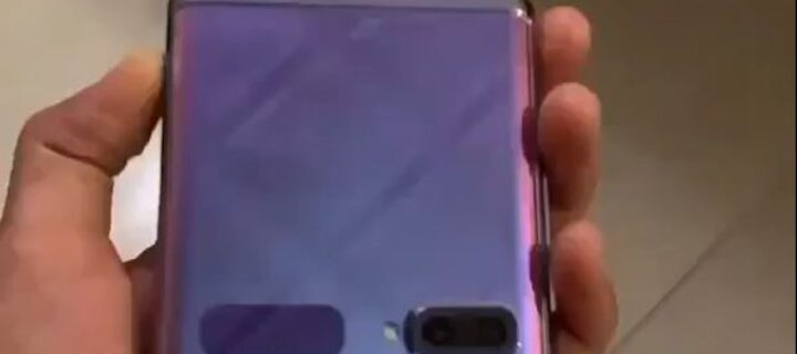 Gaze on the first hands-on video of the Samsung Galaxy Z Flip