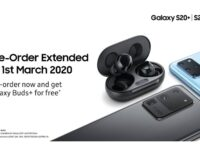Samsung Galaxy S20 series preorders now extended to 1st March 2020 with same