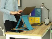 MOFT Z portable standing desk hits Kickstarter