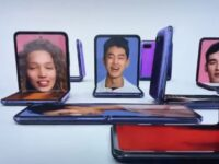 Samsung Galaxy Z Flip revealed at the Oscars