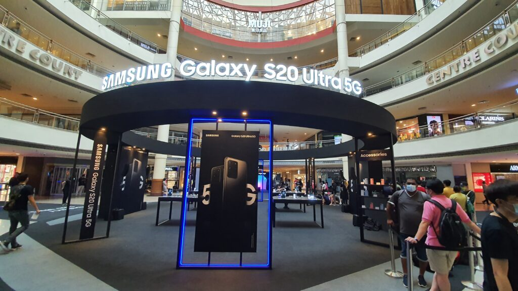 Galaxy S20 roadshow