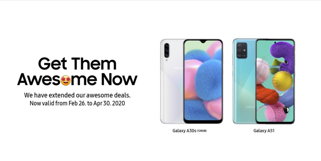 Galaxy A30s A51 rresistible Rewards