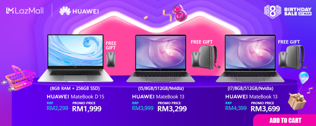 Huawei Lazada flash sale