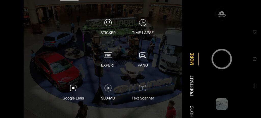 OPPO Find X2 Pro modes
