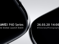 HUAWEI P40 Series global launch streaming live this 26th March