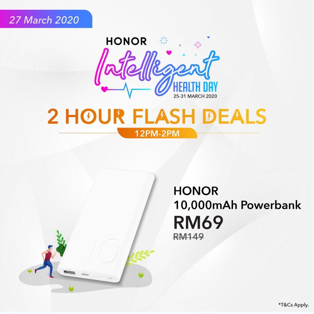 Honor Lazada flash sales