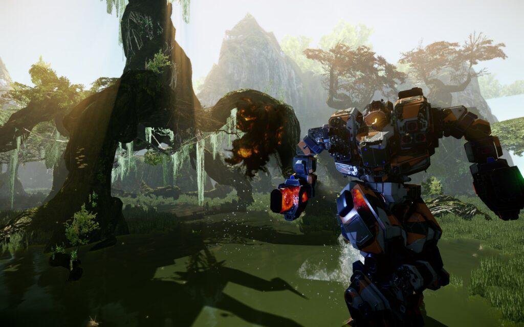 free game mechwarrior online