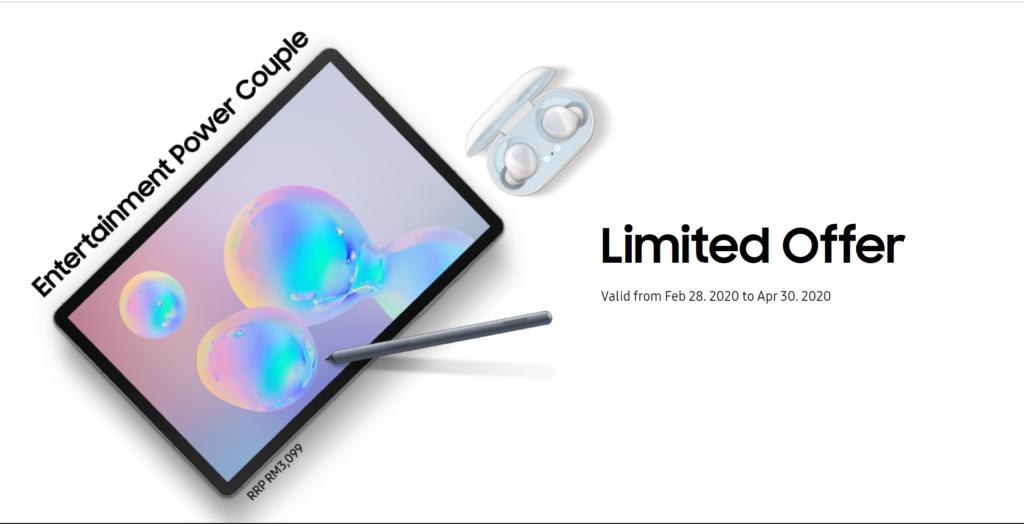 Tab S6 Irresistible Rewards