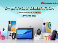 Huawei online store 6th anniversary with amazing bargains from as low as RM0.60!