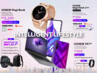 Honor MagicBook notebook , 9x Pro phone and MagicWatch 2 in Sakura Gold arrive in Malaysia