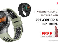 Huawei Watch GT 2e priced at RM599 with free gifts on preorder