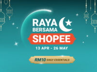 Raya Bersama Shopee celebration offers essentials from RM10 and crazy good bargains
