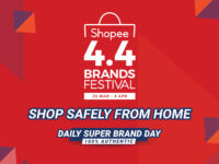 Shopee reveals 4.4 Brands Festival with bargain gadgets galore up for grabs