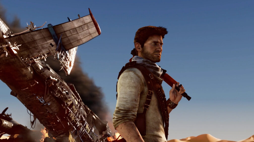 Sony Play At Home Nathan Drake
