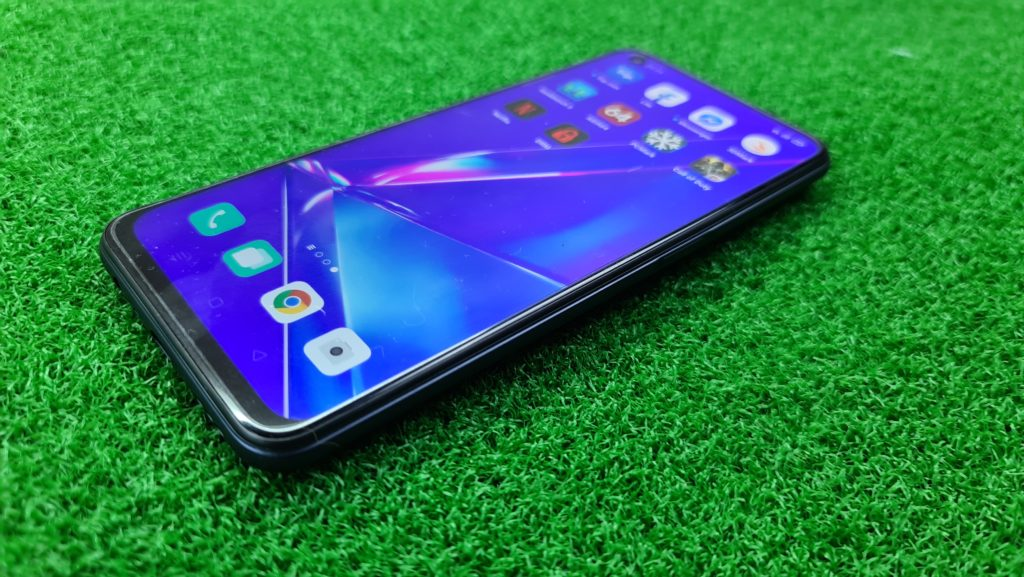 OPPO A92 review angled