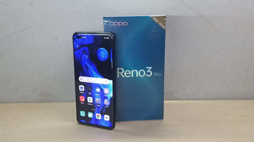 OPPO Rwno2 Peo review box