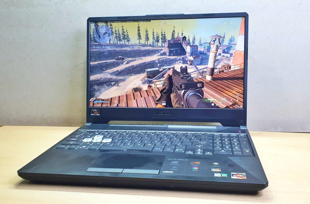 TUF Gaming A15 review ASUS