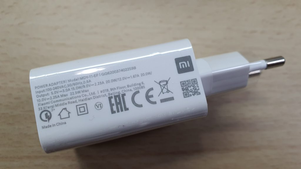 redmi note 9s charger
