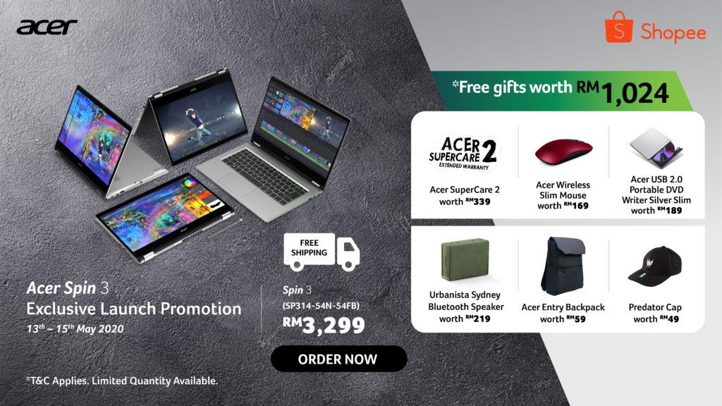 Acer Spin 3 i3