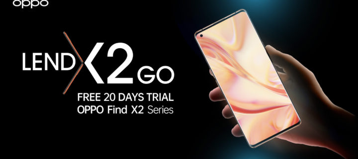 OPPO LendX2Go lets you test drive the powerful Find X2 Pro 5G phone free for 20 days