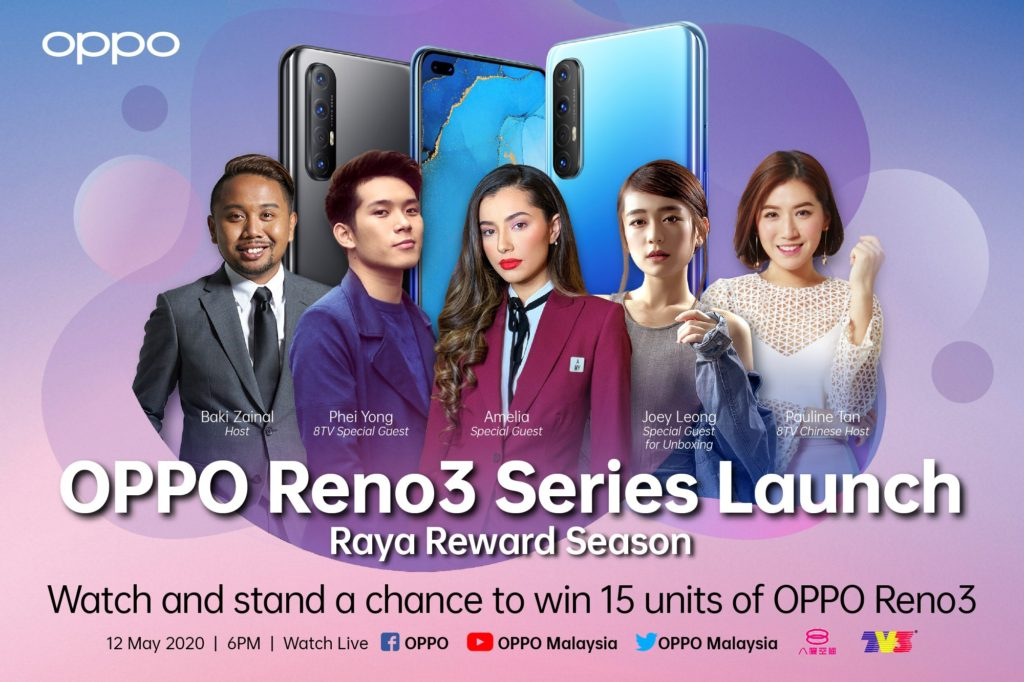 OPPO Reno3 launch
