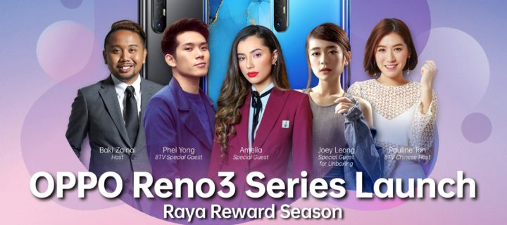 OPPO Reno3 launching this May 12; 15 Reno3 phones to be won