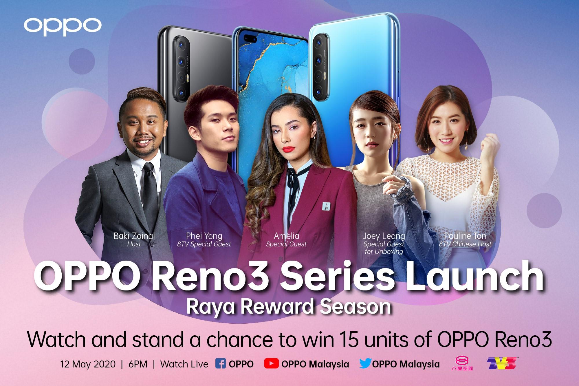 OPPO Reno3 launch