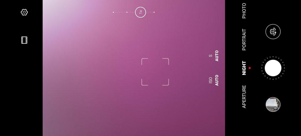 P40 Pro review camera UI