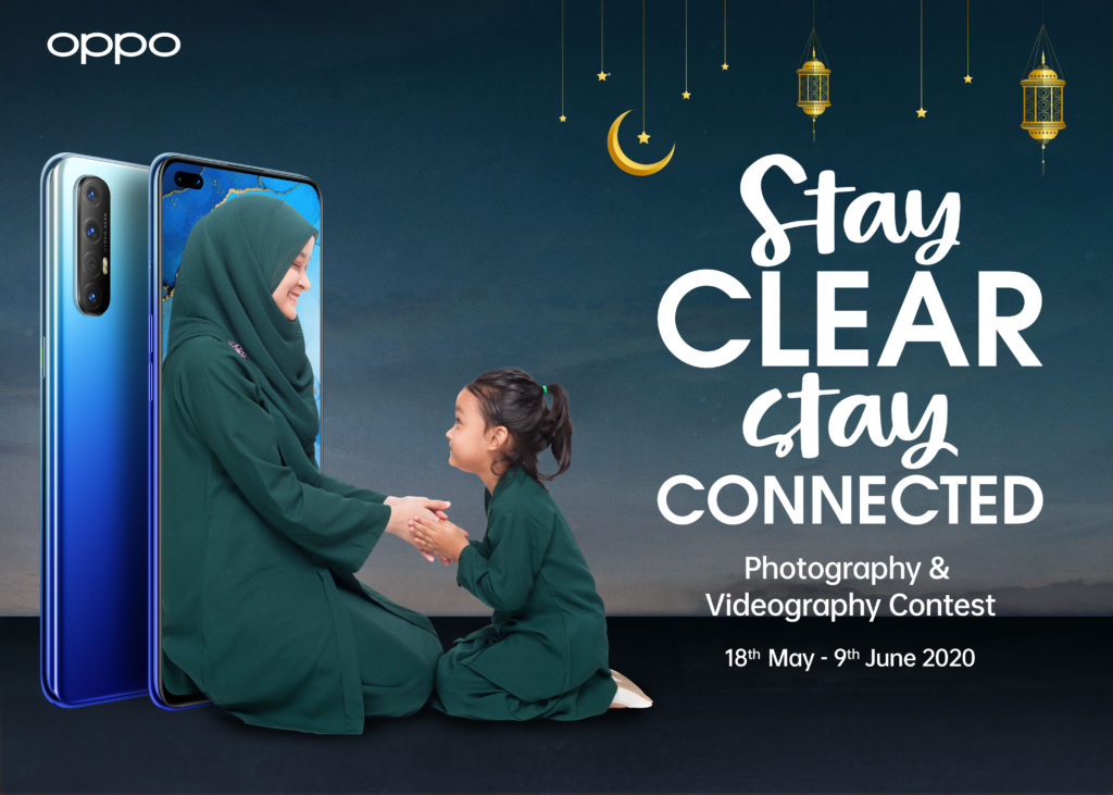 OPPO Stay Clear Stay Connected competition