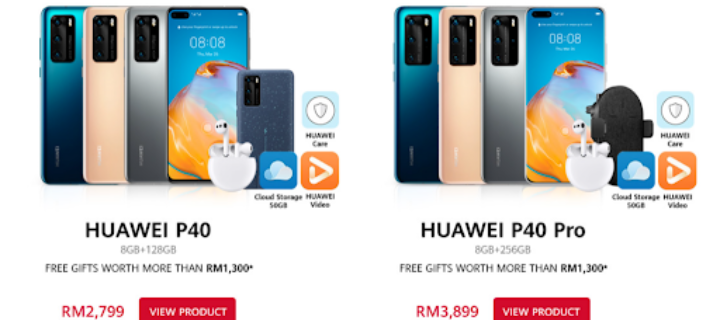 Last Call for Huawei P40, GT 2e watch and MatePad Pro with free preorder gifts
