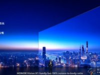 HONOR debuts Vision X1 TV with virtual assistant and 8K playback