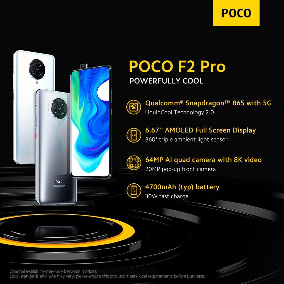 POCO F2 Pro demo