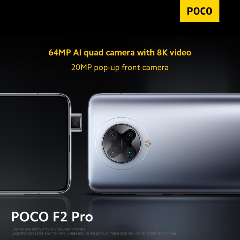 POCO F2 Pro cam
