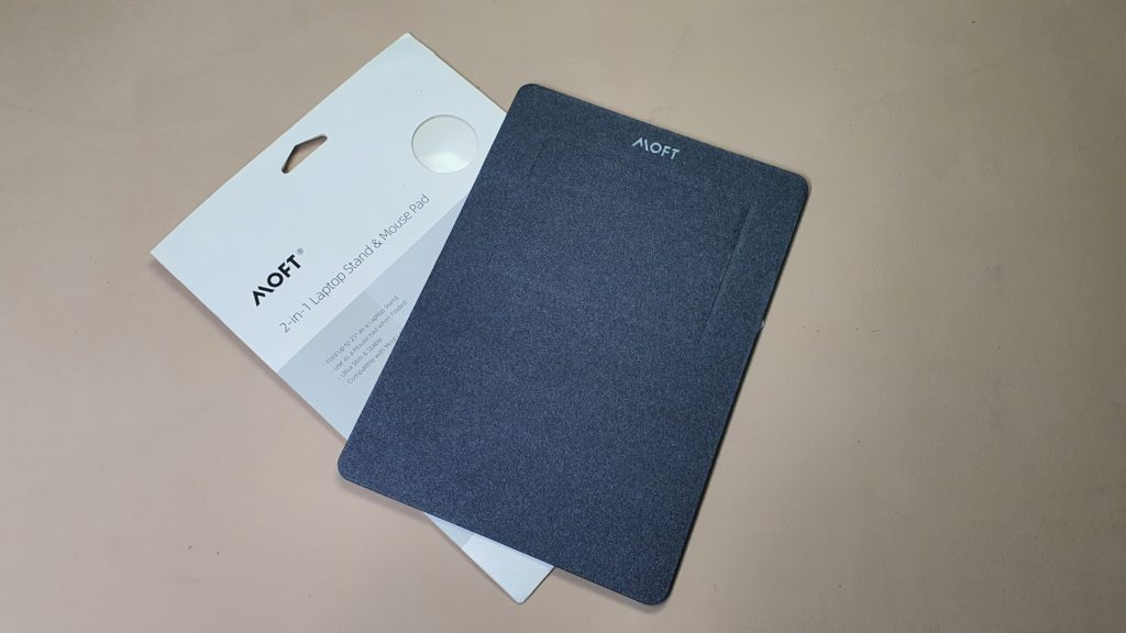 MOFT 2-in-1 Laptop Stand & Mouse Pad box