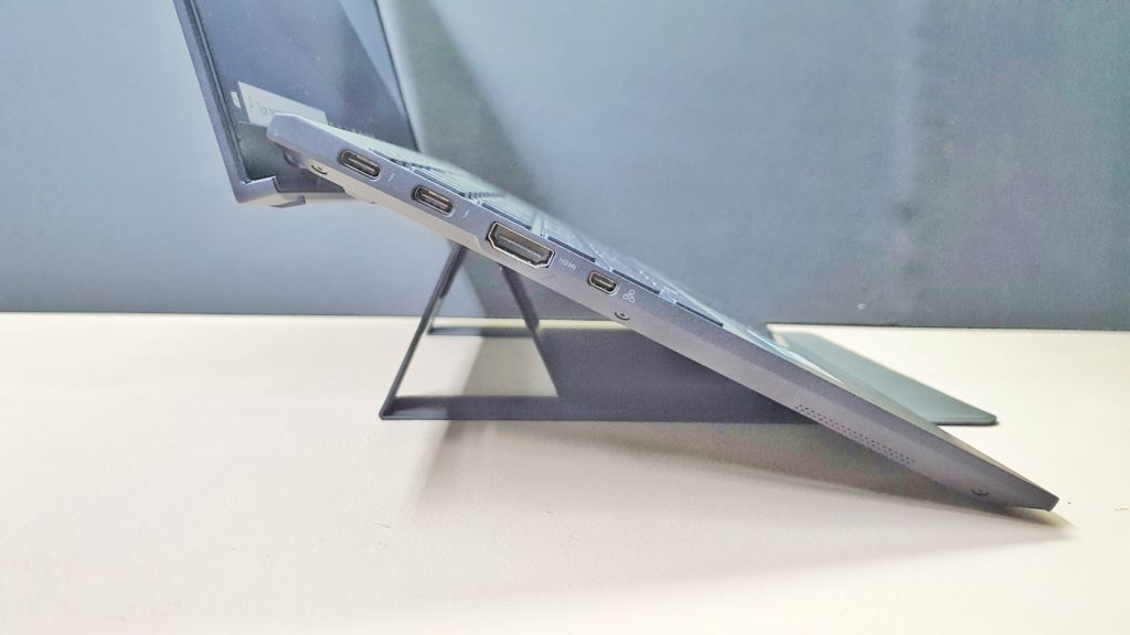 MOFT 2-in-1 Laptop Stand & Mouse Pad side view