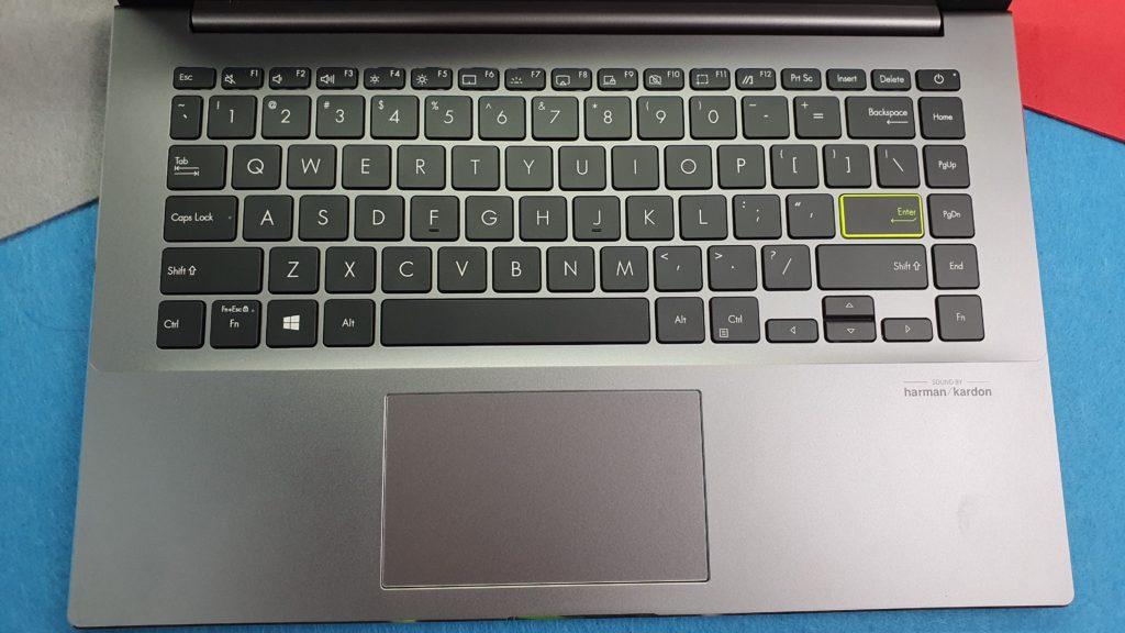 Asus Vivobook S14 M433 keyboard
