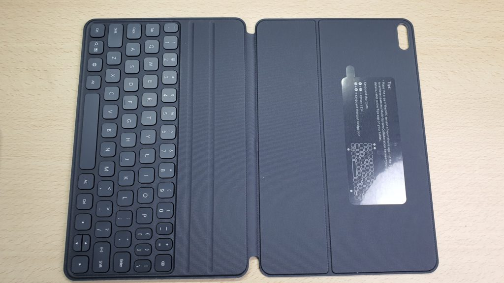 Huawei MatePad Pro smart magnetic keyboard