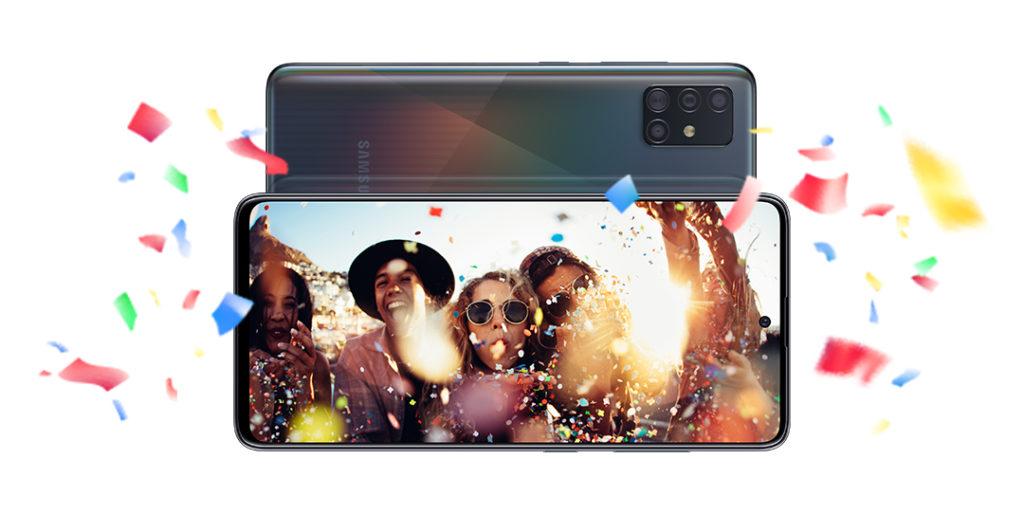 Galaxy A51 hero