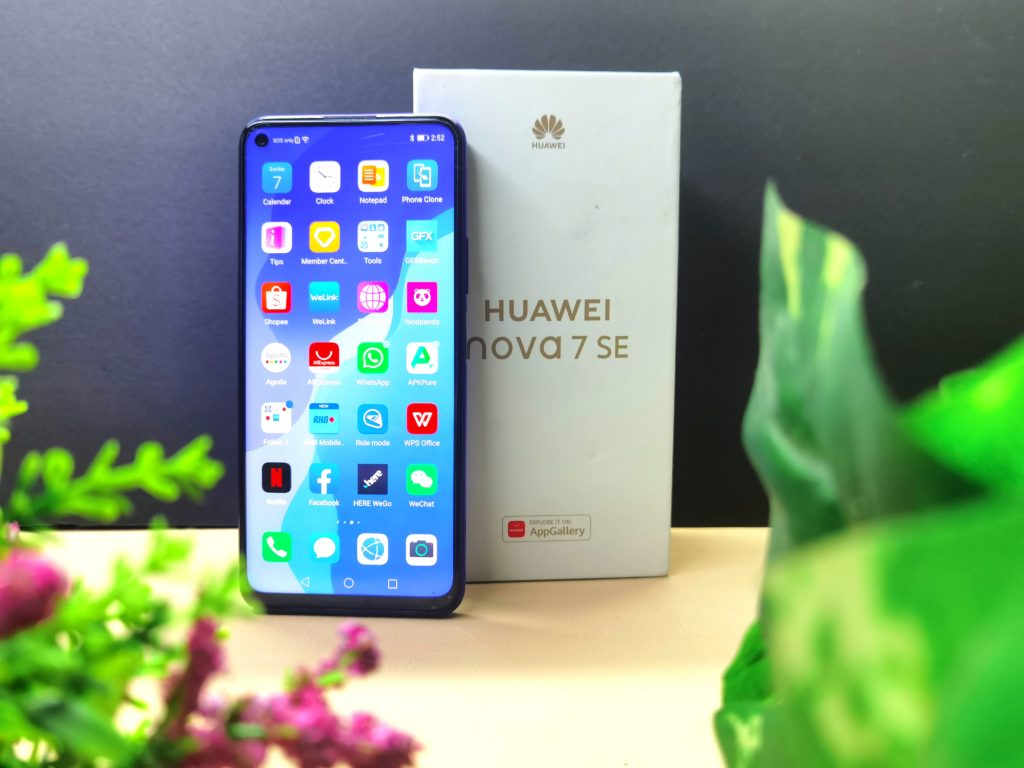 Huawei App Gallery Nova 7 series