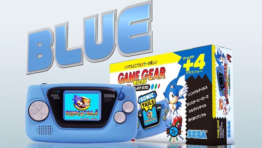 Sega Game Gear Micro blue