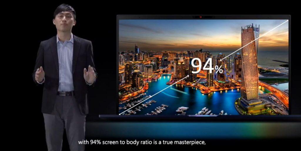 Asus ExpertBook B9 B9450 size