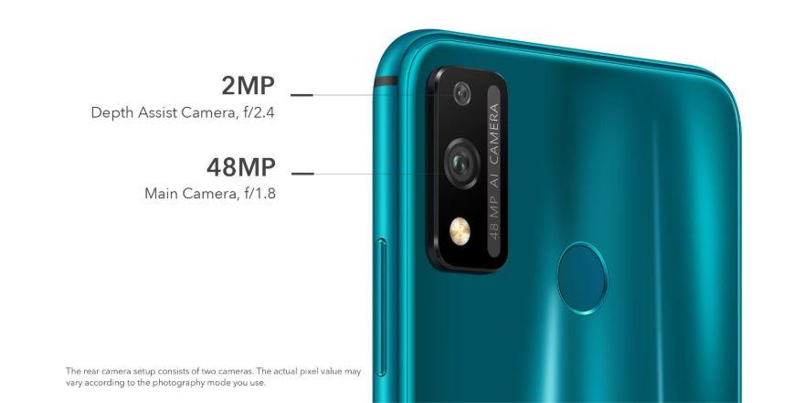 honor 9x camera