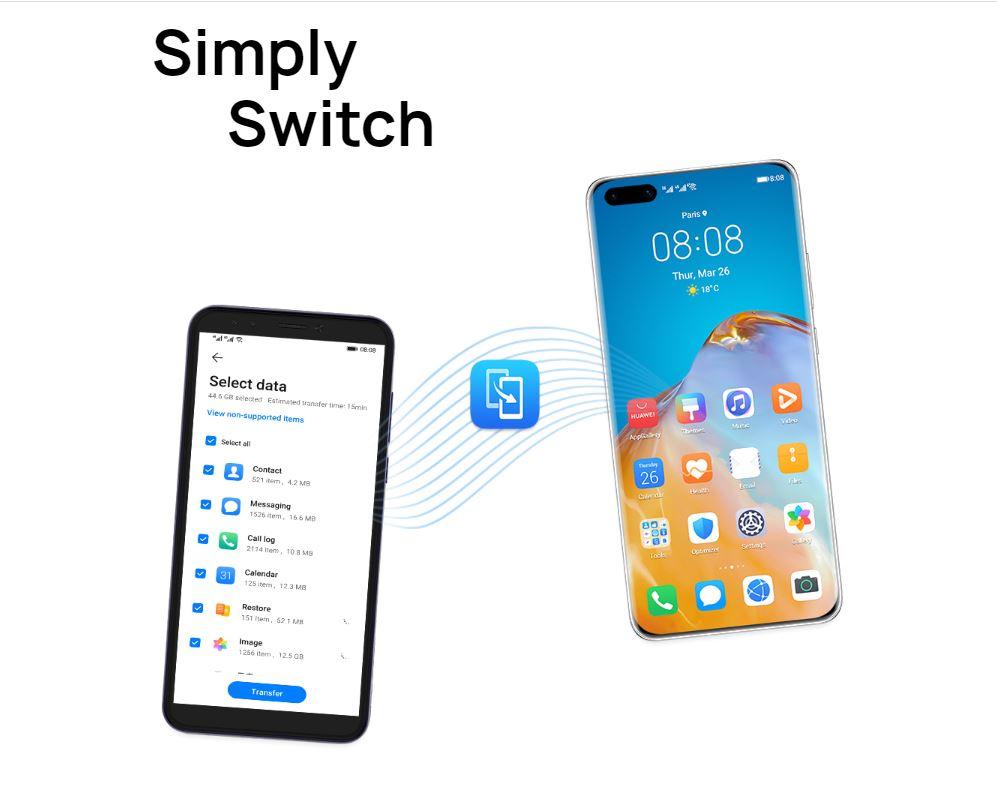 Phone Clone AppGallery Huawei Nova7 series